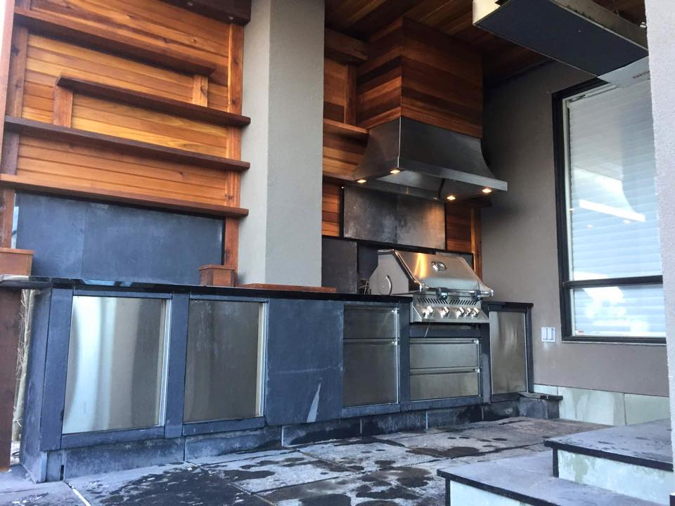 CityScape Landscaping Calgary - Outdoor Kitchen Landscaping - barbecue landscaping