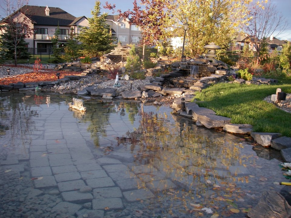 CityScape Landscaping Calgary - Pond design Landscaping - Construction Landscaping