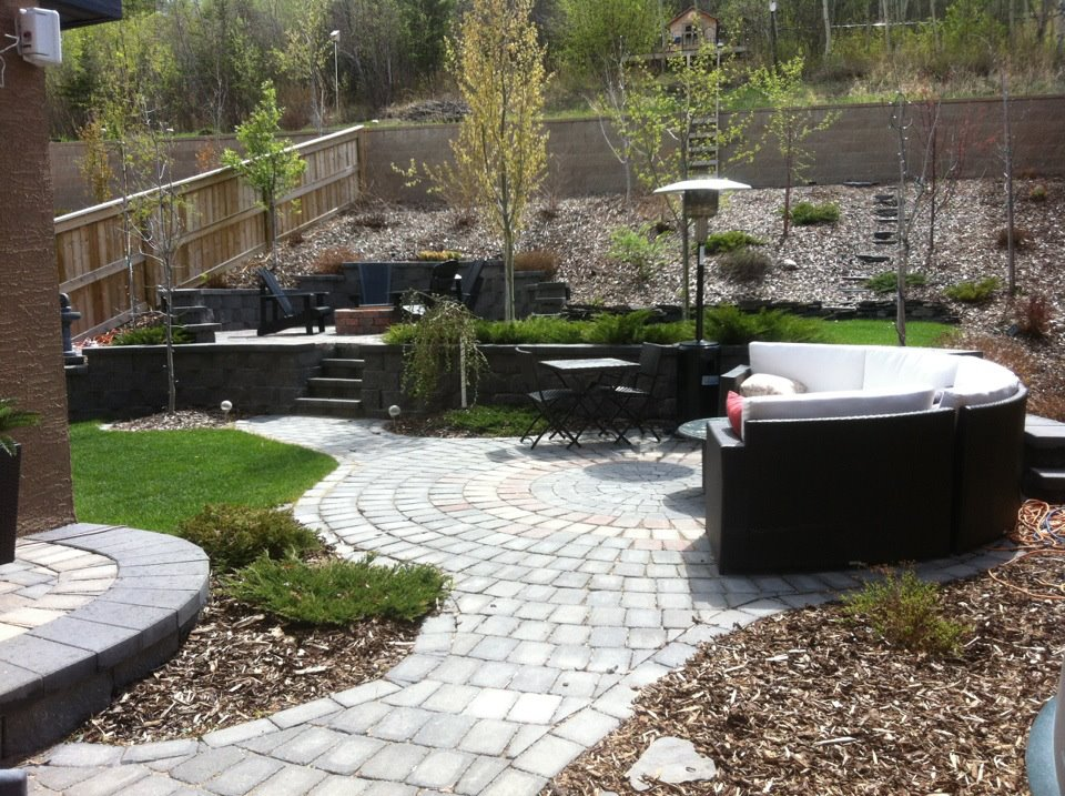 CityScape Landscaping Calgary - Patio Landscaping and firepit landscaping