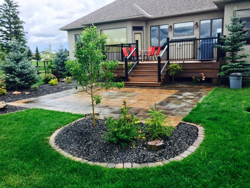 CityScape Landscaping Calgary - Patio landscaping - Stone landscaping - concrete cutting Landscaping