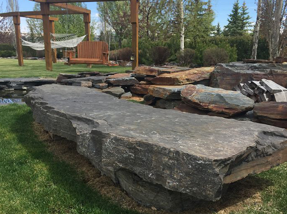 CityScape Landscaping Calgary - Stone Design / Cutting Landscaping