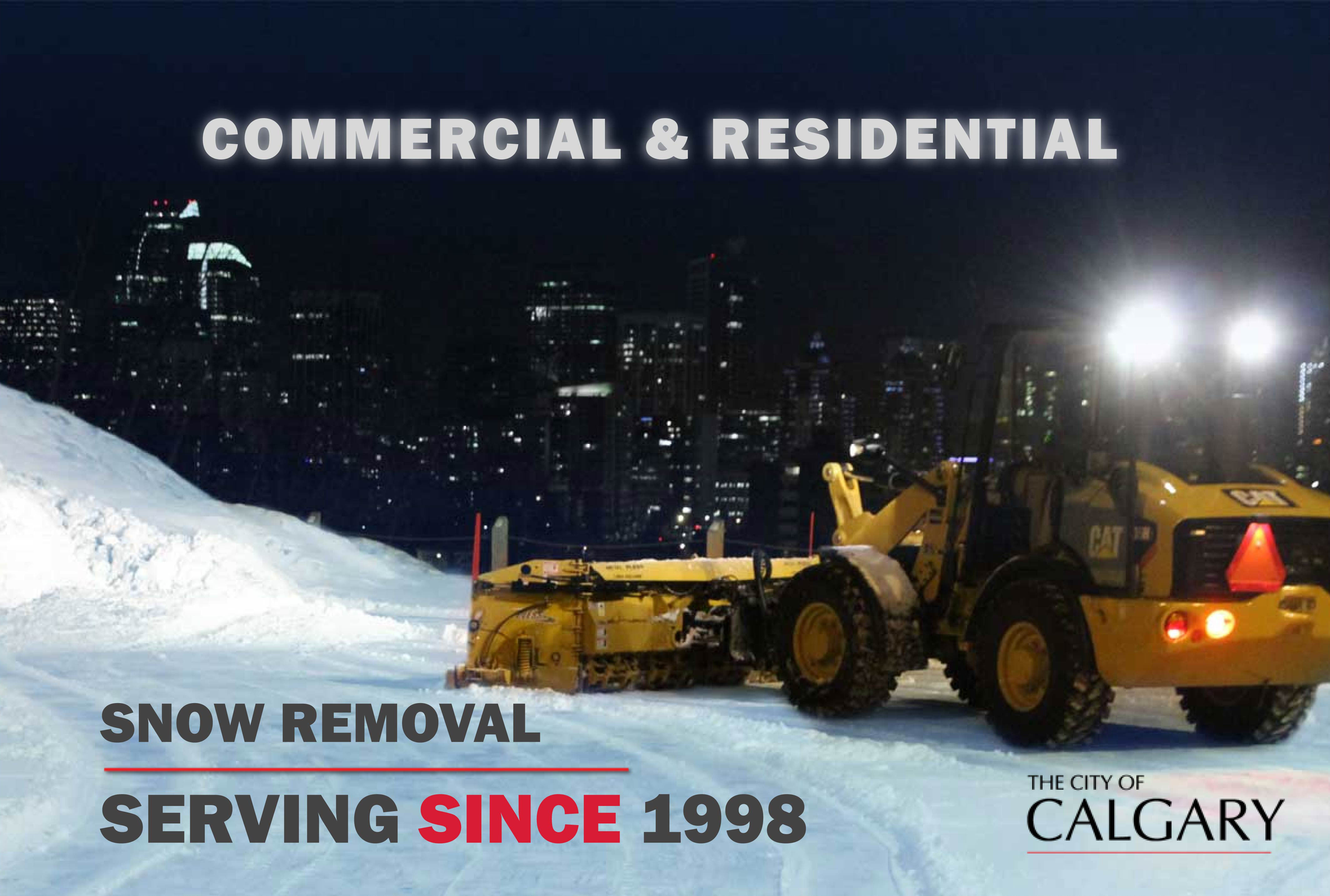 Cityscape Landscaping Calgary - snow removal